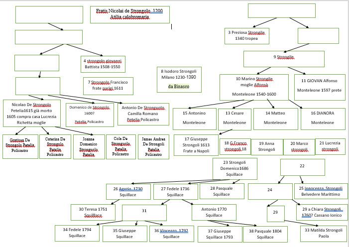 Geografia Strongoliana