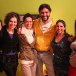 Solange Akierman, Flávia Strongolli, Michelle Boesche, Ramiro Silveira, Maura Hayas e Michelle Ferreira